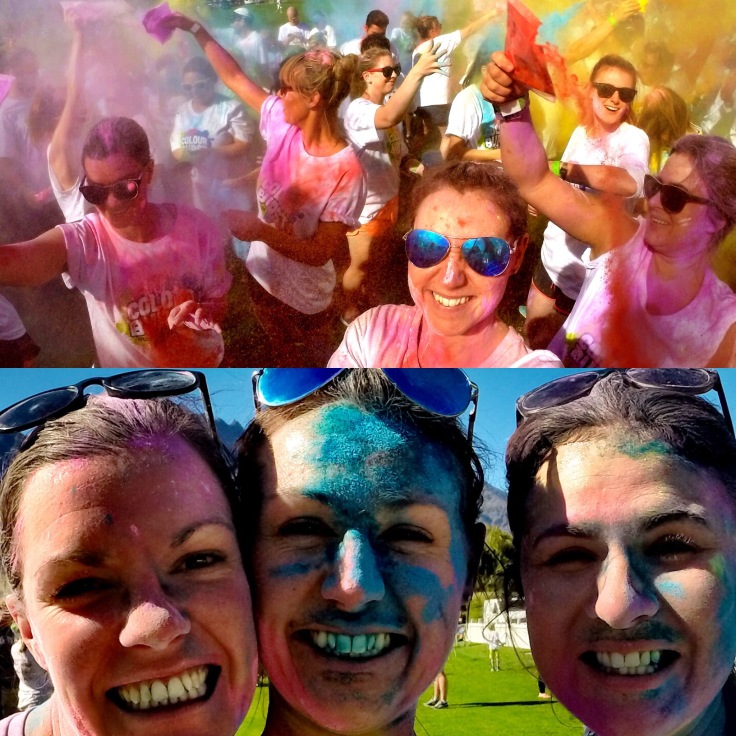sociaLies colour run