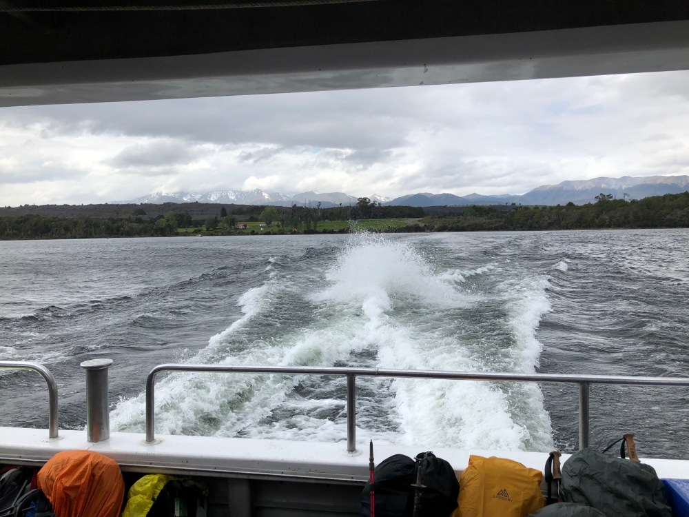 milford track bags boat